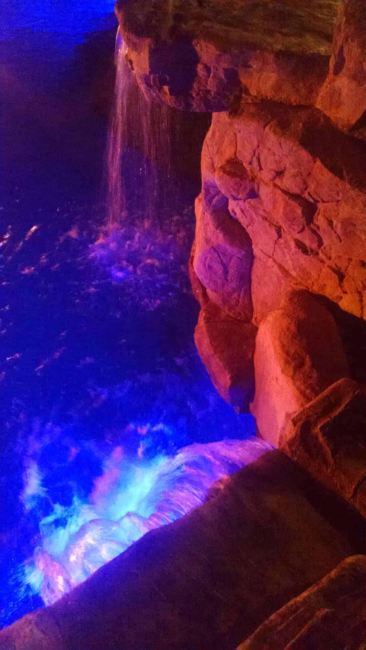 RicoRock Custom Waterfall
