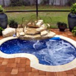 TX 2 Step Compact Swimming Pool Waterfall