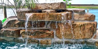 28 inch swimming pool waterfall kit - Pool Waterfalls