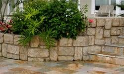 4 & 12 Inch Veneer Stones Installed