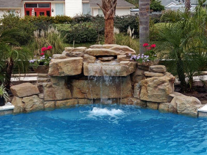 3 Ft Modular Swimming Pool Waterfall Kit Ricorock Inc