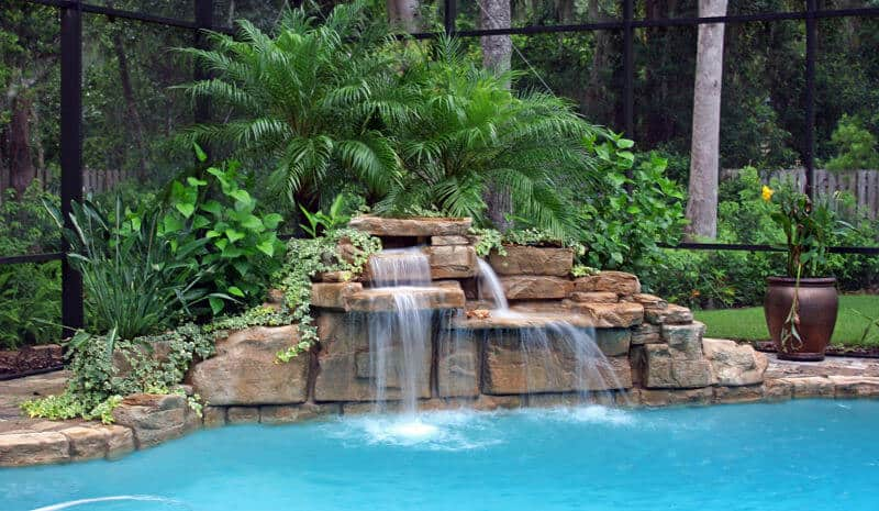 A Plus Pools Rico Rock Waterfalls From Oregon 39 S Premier Viking Pools Dealer For Southern