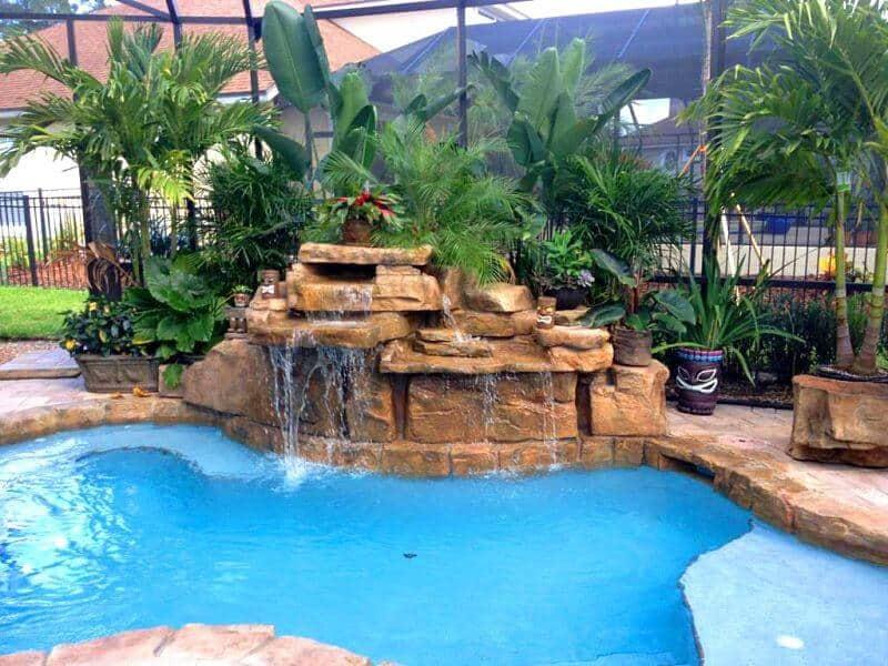 Prestige Pools Of Wilmington Nc Rico Rock Waterfalls