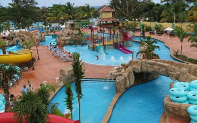 Custom Faux Rock at Jewel Runaway Bay Waterpark in Jamaica