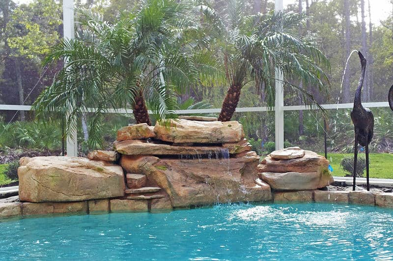 Tennessee Ledger Swimming Pool Waterfall Kit Ricorock Inc