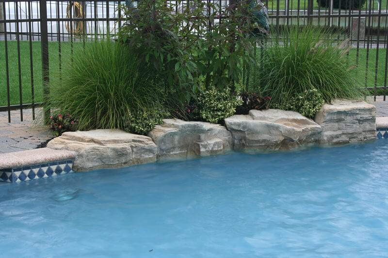 Boulders Around Pool Interesting Coping & Boulders  Ricorock® Inc.
