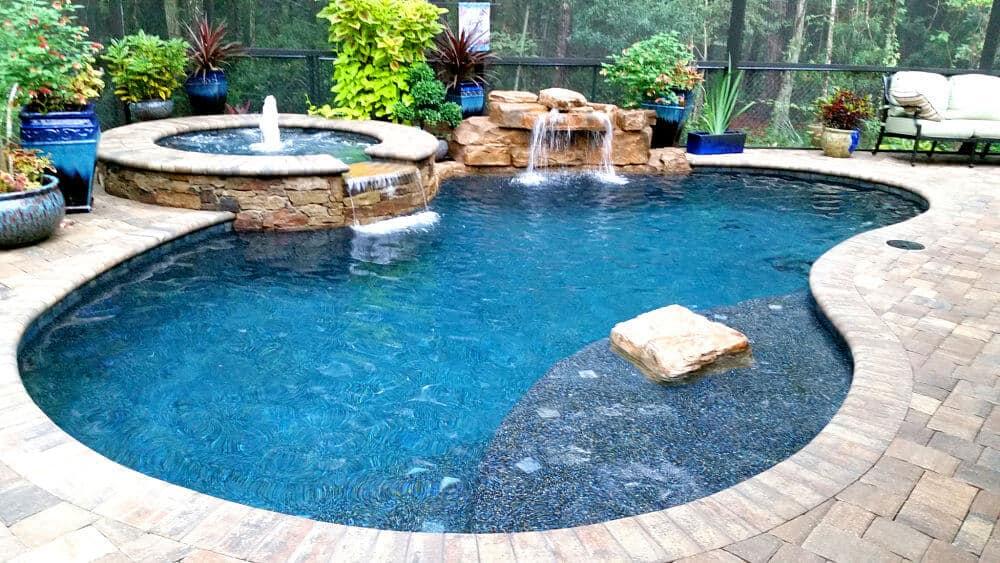 RicoRock 28″ Swimming Pool Waterfall Kit