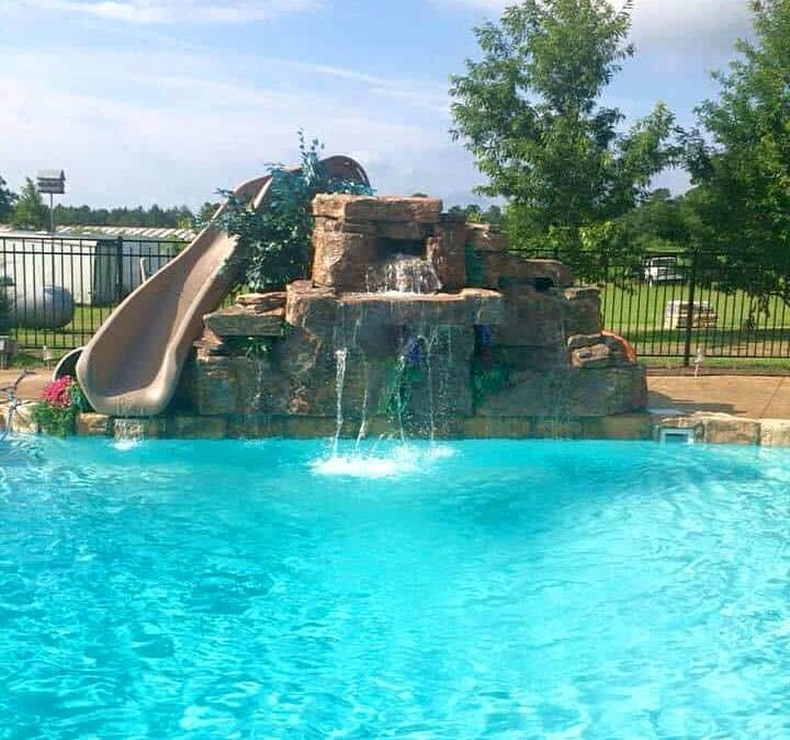 RicoRock 5 Ft. Triple with Water Slide