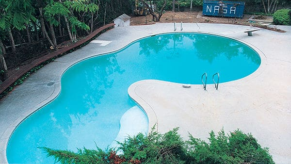 Playmate Guest House Pool – Before