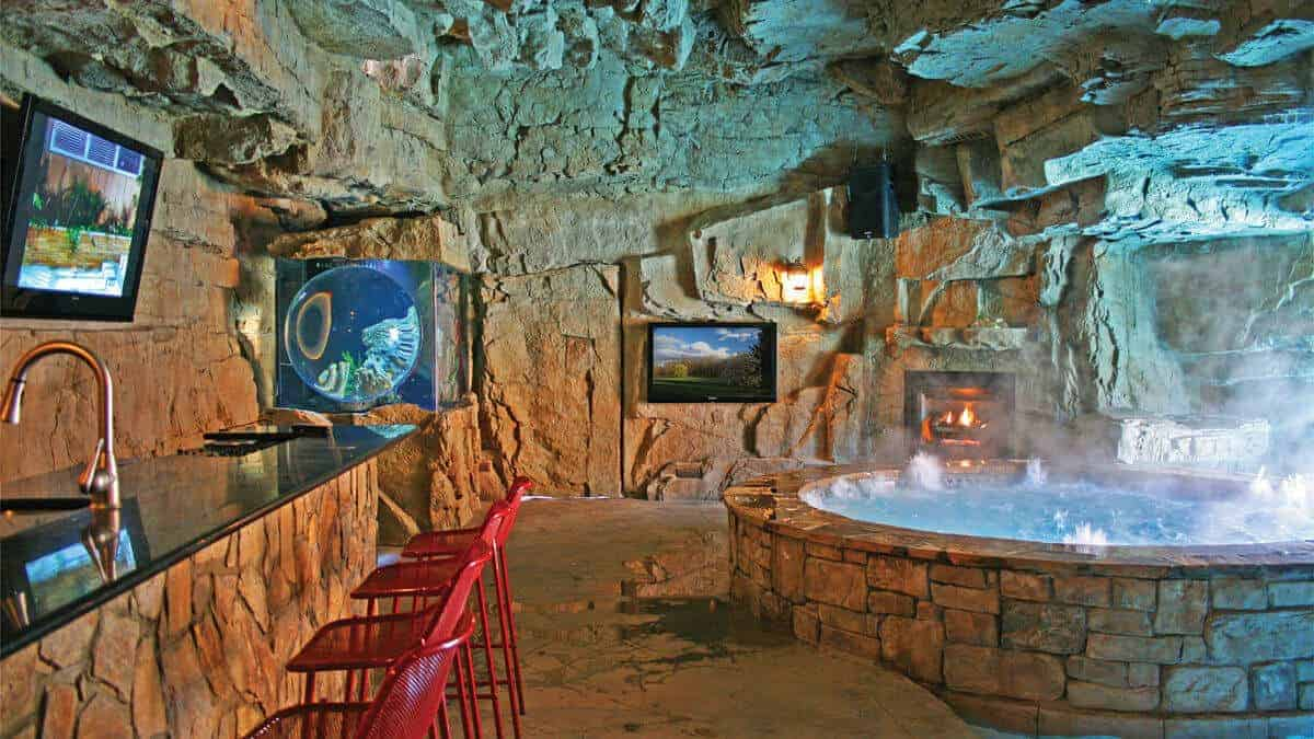 Pool HouseMan Cave In Virginia RicoRock Inc