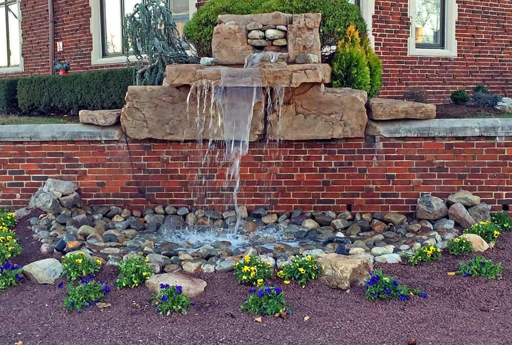 Pondless Waterfall Application at Rutgers University