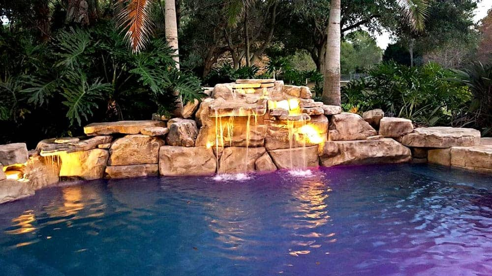 Remodeling Pools Before And After : Pool remodel before after using ricorock products