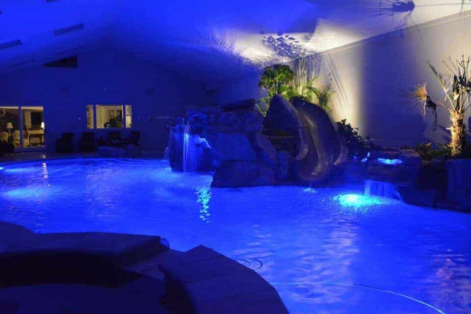 Indoor Pool Using RicoRock Products