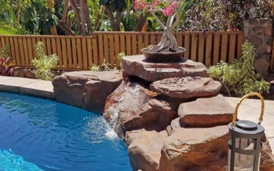 RicoRock Tennessee Ledger Waterfall Kit in Hawaii