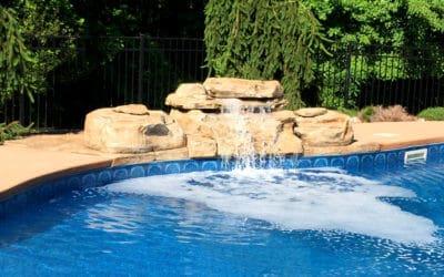 RicoRock Tennessee Ledger Swimming Pool Waterfall