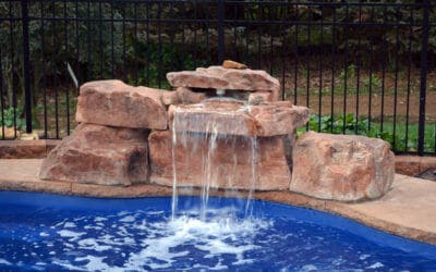 3 Foot Modular Swimming Pool Waterfall Kit