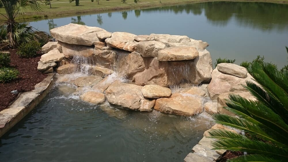 Custom and Creative RicoRock Waterfalls, Grottos, and Other Projects