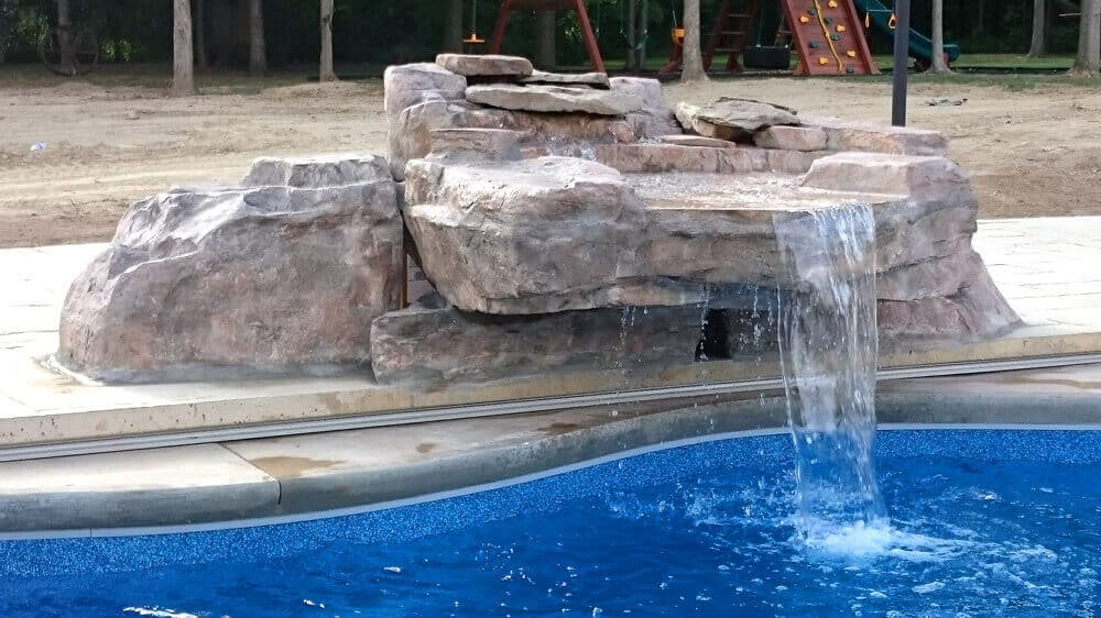 Custom And Creative Ricorock Waterfalls Grottos And Other Projects