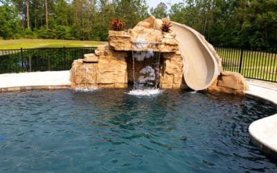 RicoRock Component Grotto with Water Slide