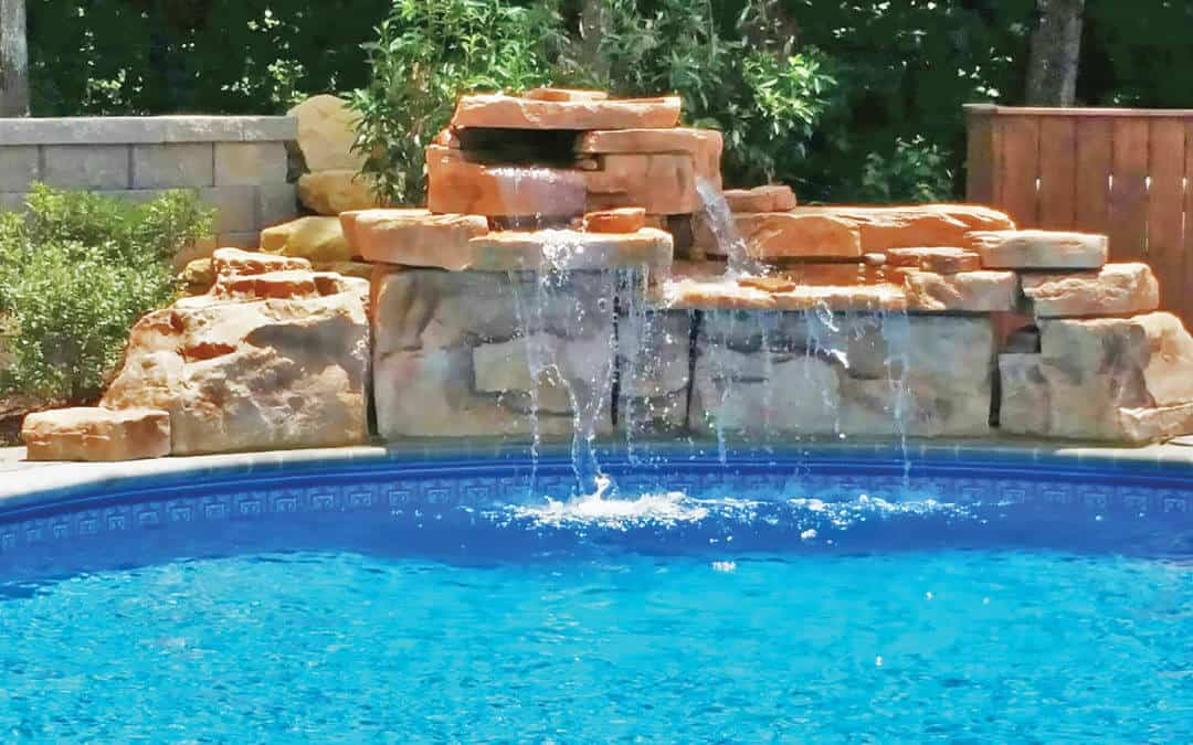 Put this 4ft Double Waterfall in your backyard!!