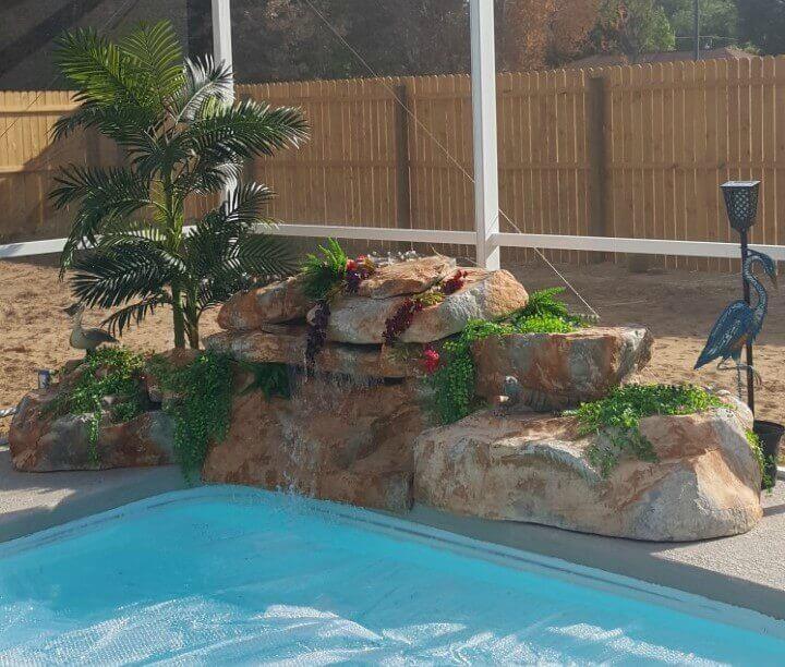 RicoRock Swimming Pool Waterfall Kit Homeowner Testimonial – Florida