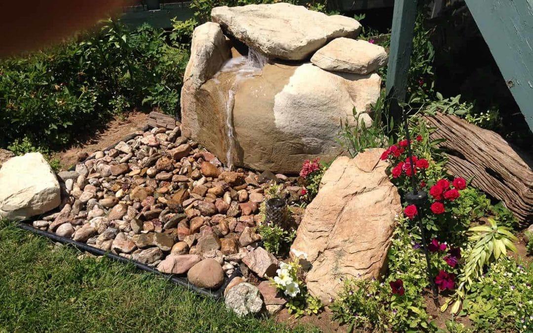 Wyoming Bubbler Pondless Waterfall Application