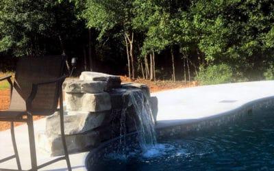 RicoRock 28 Inch Swimming Pool Waterfall Kit
