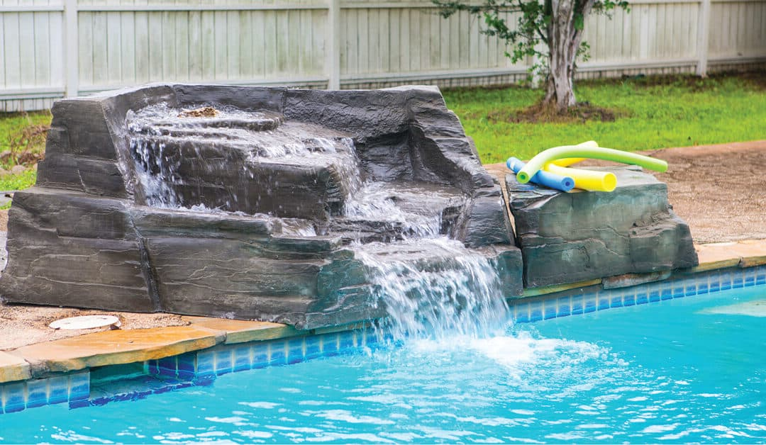New RicoRock Swimming Pool Waterfalls & Contemporary Products