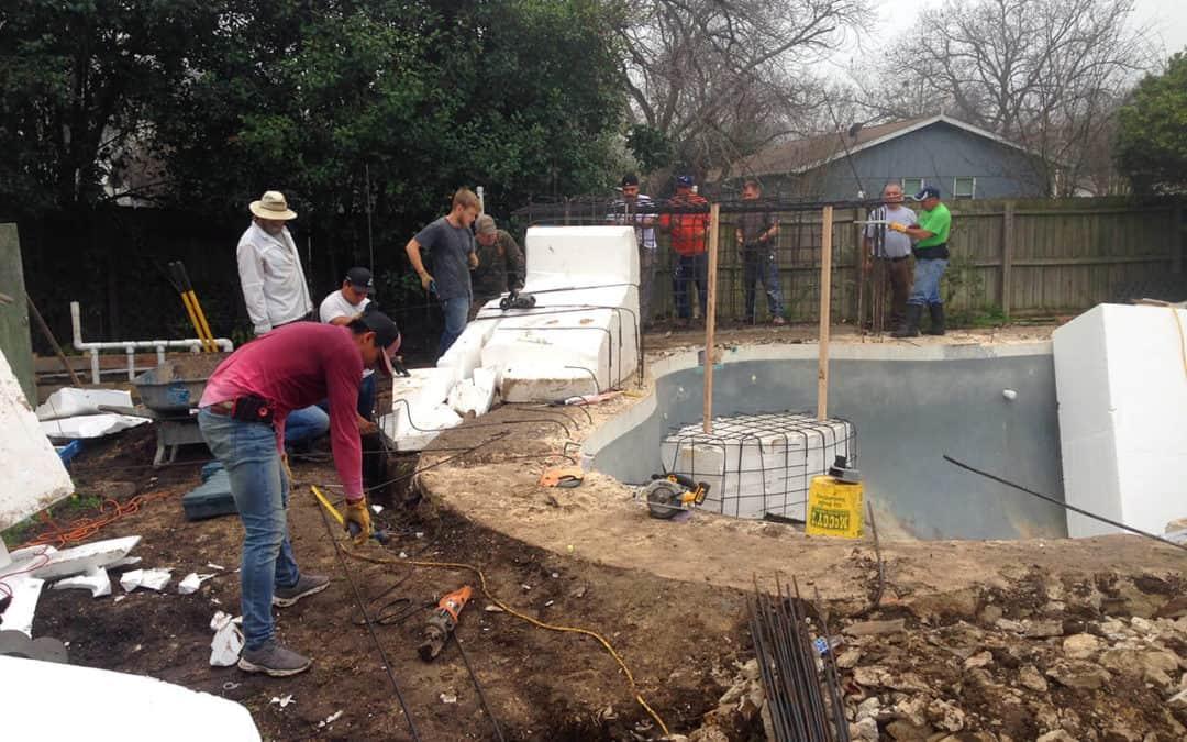 RicoRock Grotto Construction Seminar Pics