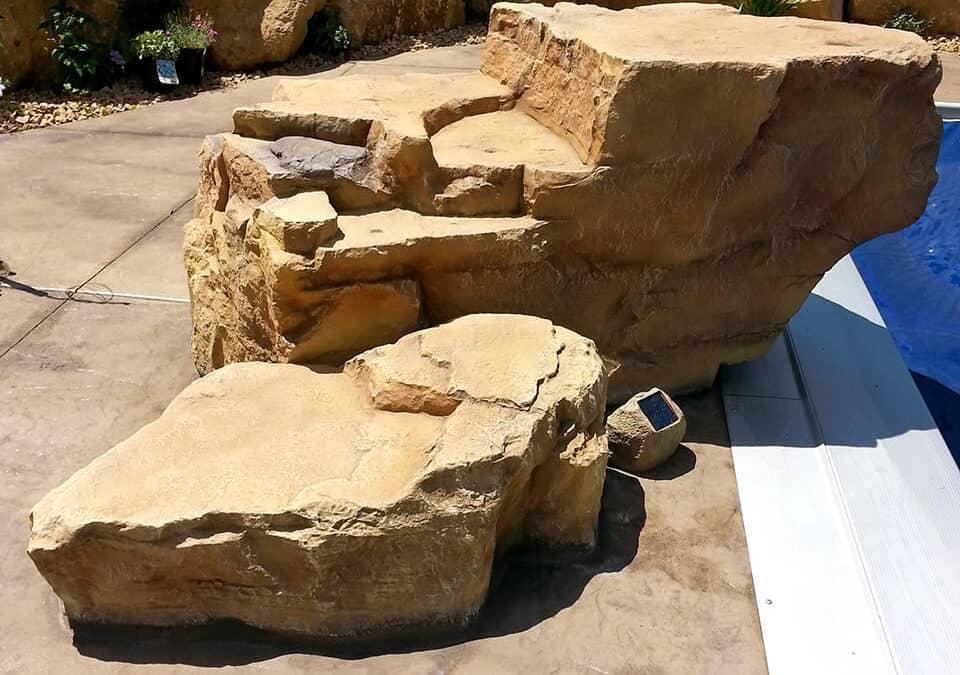 Creative Use of RicoRock Faux Rock Boulders