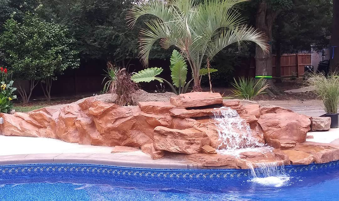 Tennessee Ledger Waterfall, Stream Section & More Faux Rock Products