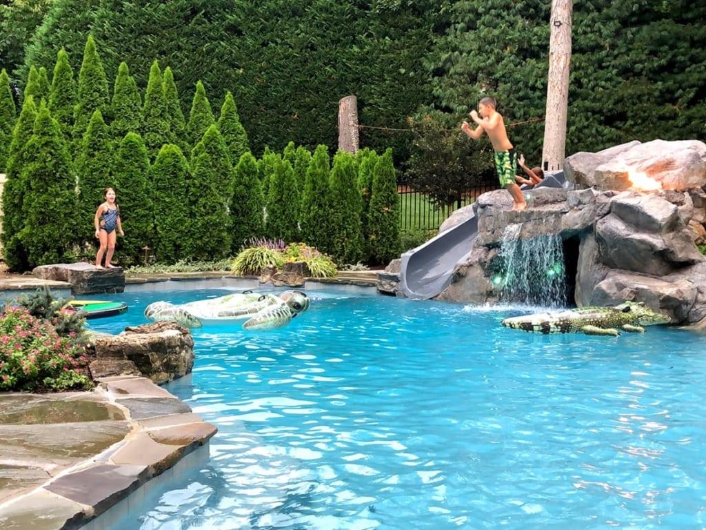 Pool Remodel RicoRock Faux Rock