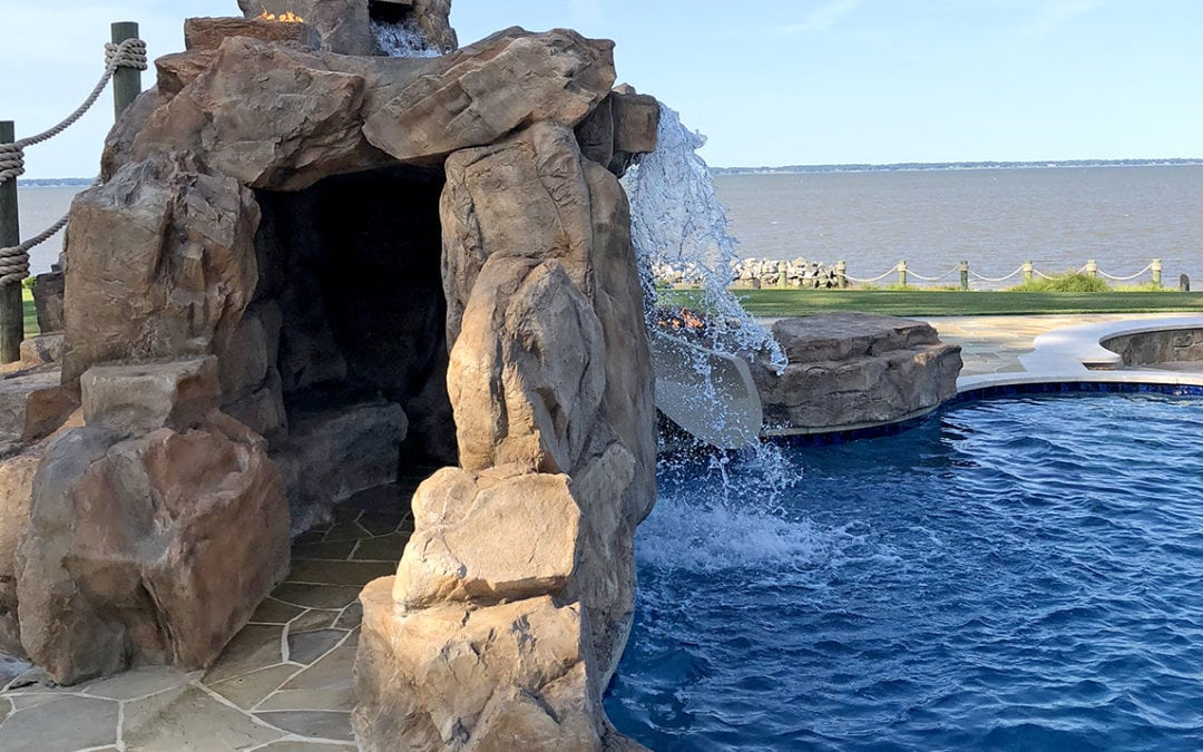 A 5-Star Resort Grotto Pool Experience in Your Own Backyard