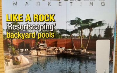 We Were Featured on the Cover of Pool & Spa Marketing Magazine