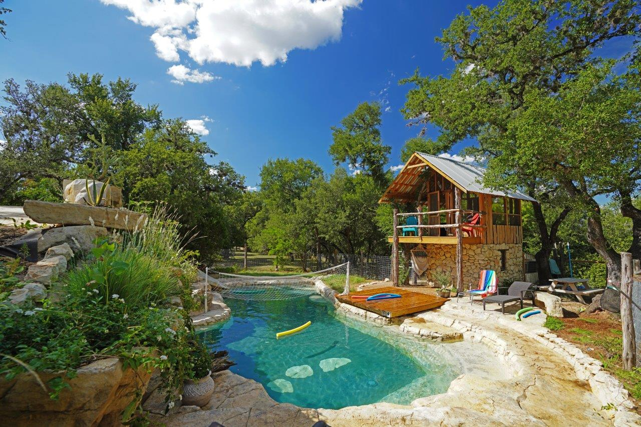 Treehouse with Pool