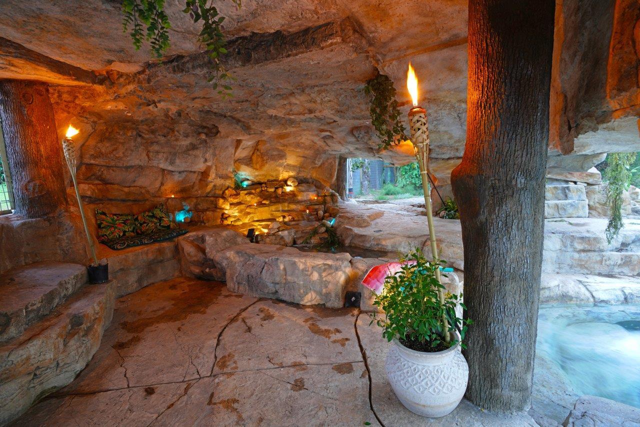 Cenote Pool Inside