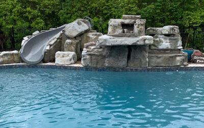 5 Foot Triple Waterfall Kit w/ Water Slide in Tennessee