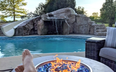 Custom Grottos Elevate Your Poolside Lounging Experience
