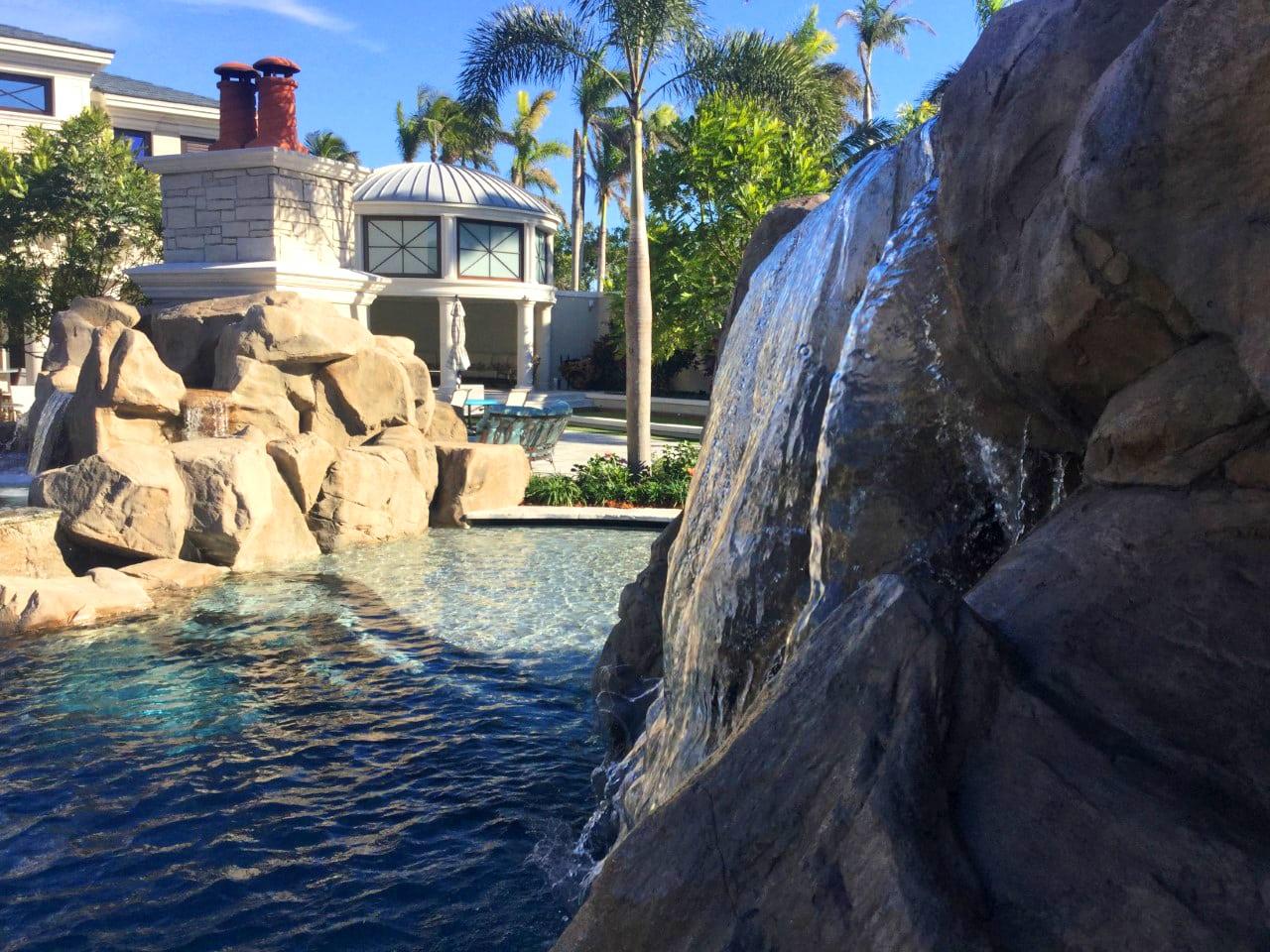 Backyard Oasis Faux Rock 2